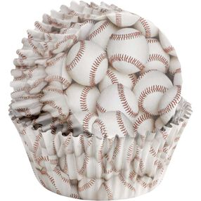 ColorCups Baseball Cupcake Liners
