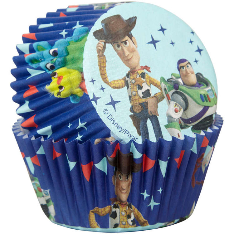 Disney Pixar Toy Story 4 Cupcake Liners, 50-Count