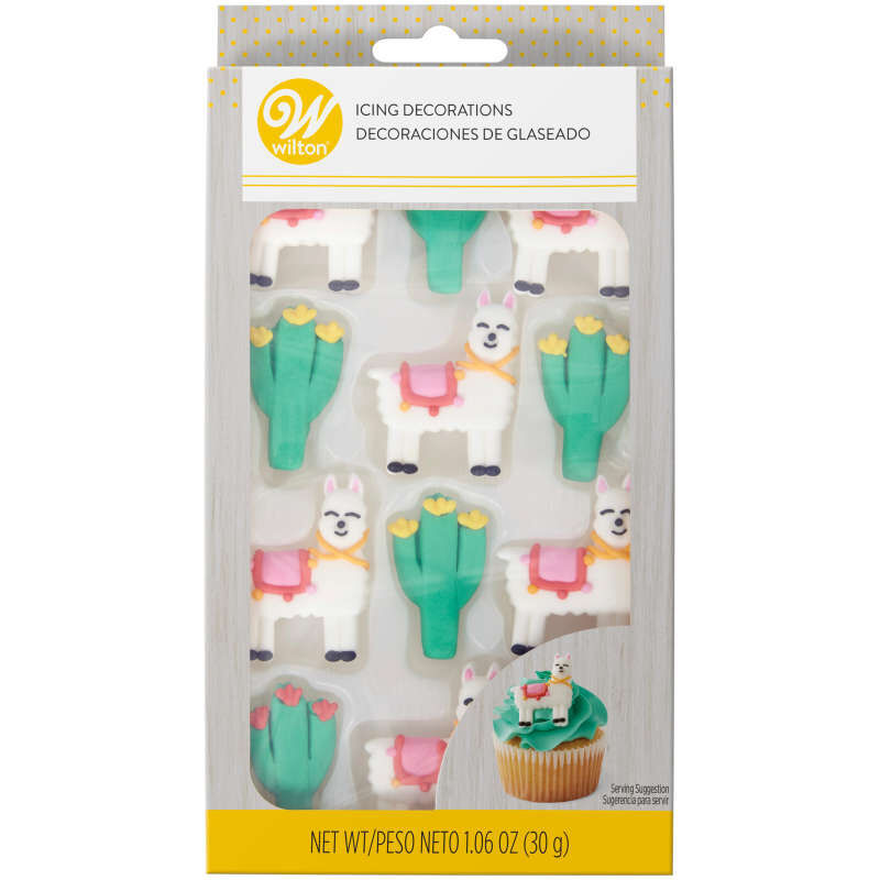 Cactus Party Icing Decorations, 12-Count image number 2