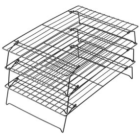 Wilton Baking Tools - Non-stick 3 Tier Stackable Cooling Rack