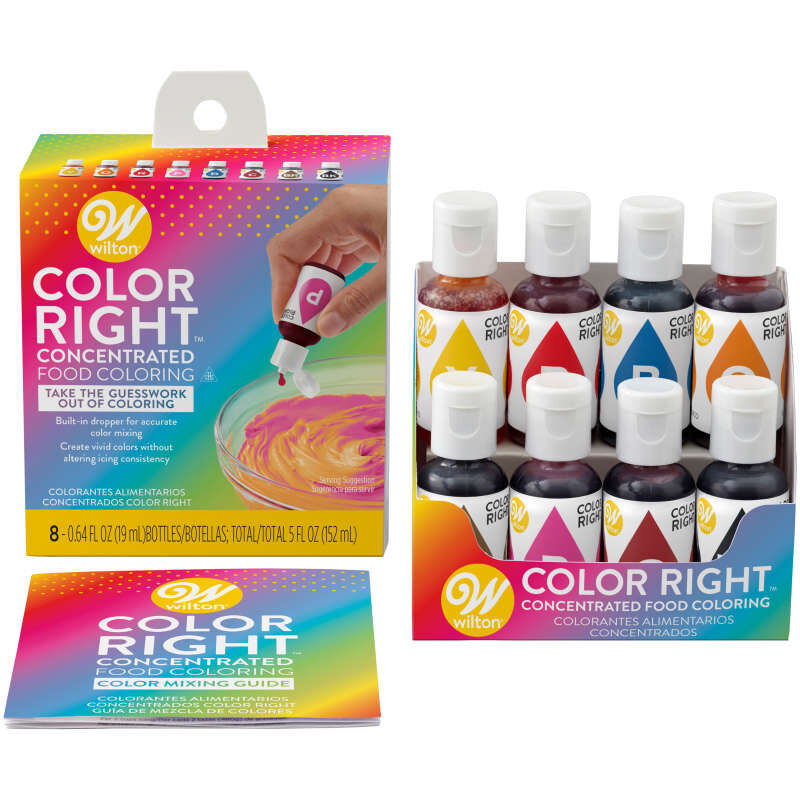 Color Right Performance Food Coloring Set image number 0