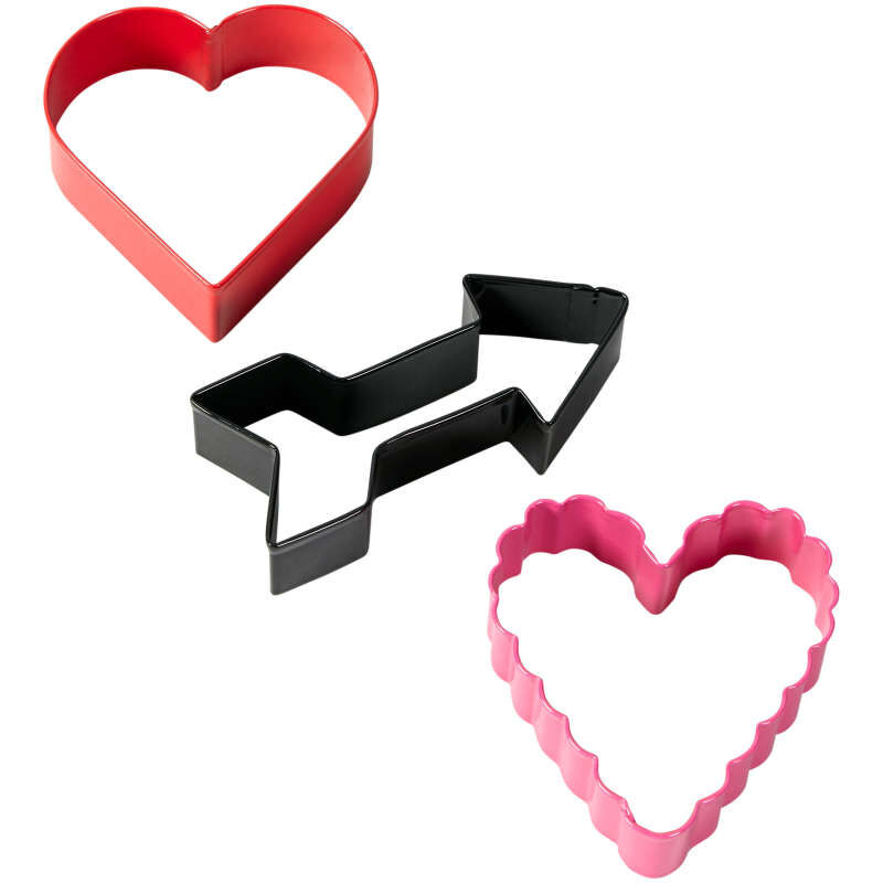 Valentine's Day Cookie Cutter and Decorating Set, 7-Piece image number 7