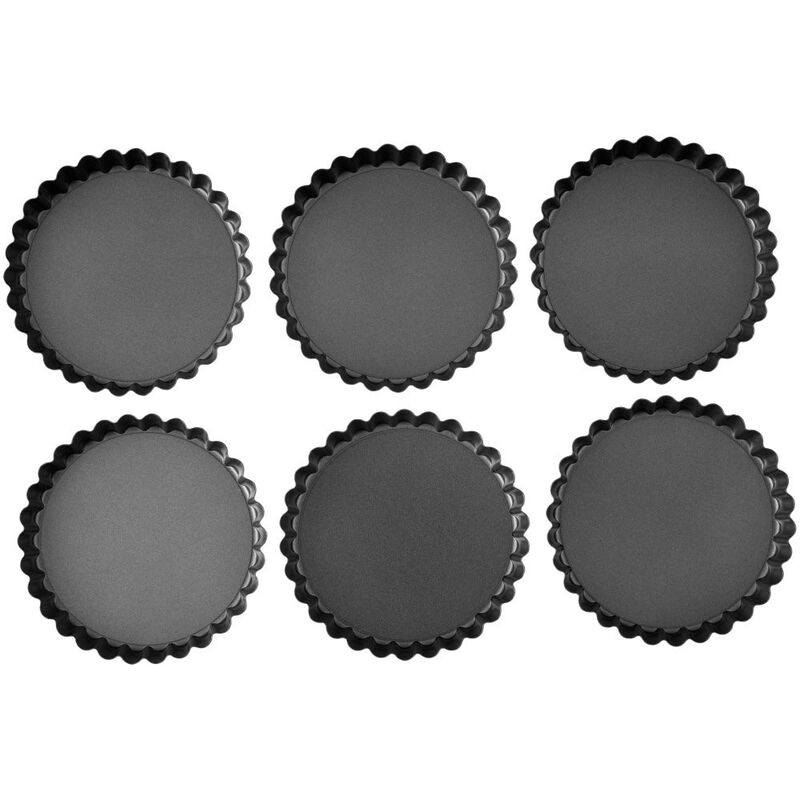 Perfect Results Non-Stick Tart Pan Set, 6-Piece image number 0