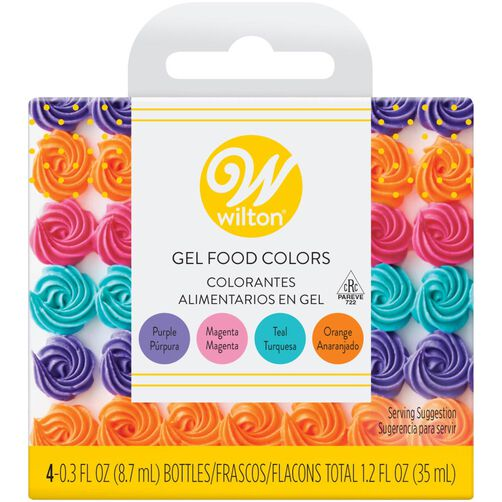 Gel Food Coloring and Sprinkles Decorating Kit, 10-Piece | Wilton