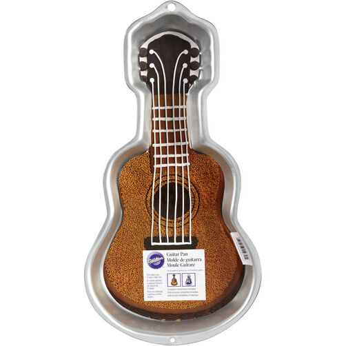 Guitar Cake Pan Wilton