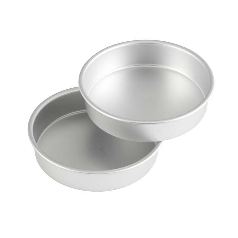 8 Inch Cake Pan Set Out of Packaging image number 0