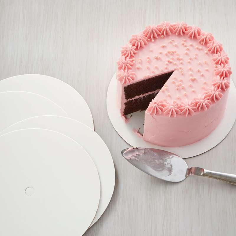 Cake Boards, Set of 12 Round Cake Boards for 10-Inch Cakes image number 2