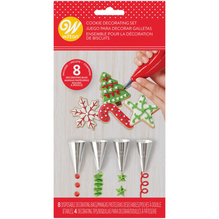 Holiday Cookie Decorating Set, 12-Piece