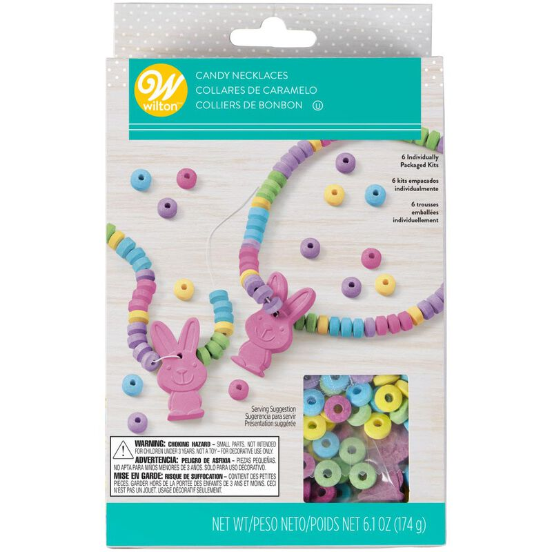 Easter Bunny Candy Necklace Kit image number 2