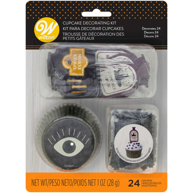 Halloween Potions and Spells Cupcake Decorating Kit, 1 oz. image number 0