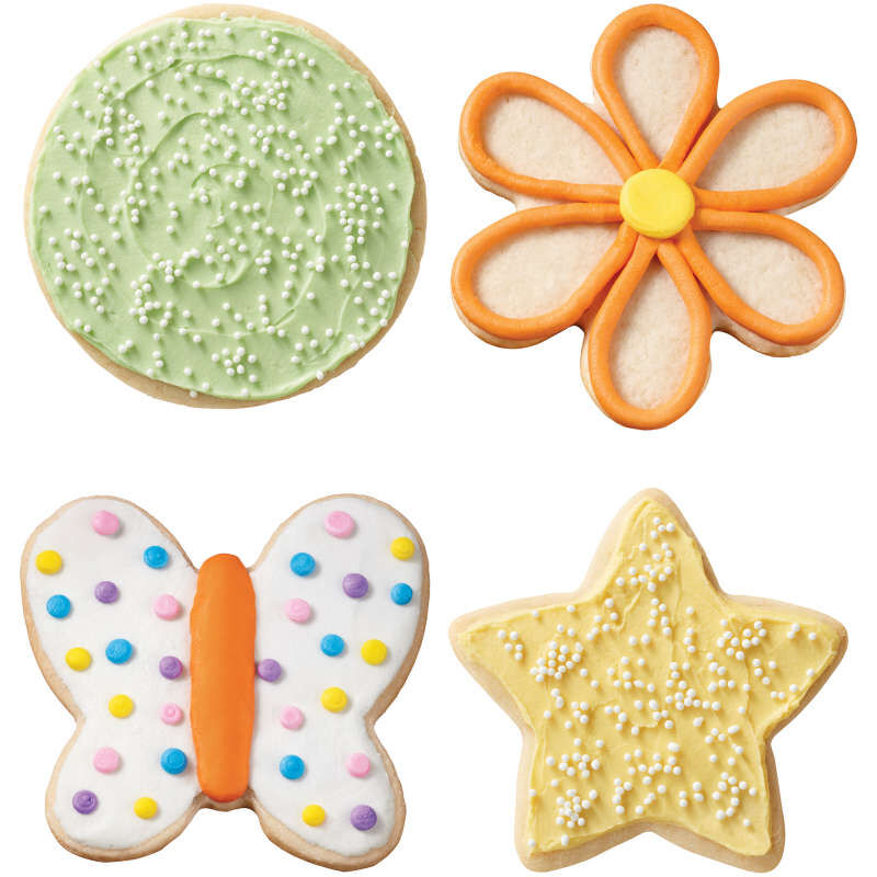 Assorted Grippy Cookie Cutters, 4-Piece image number 2