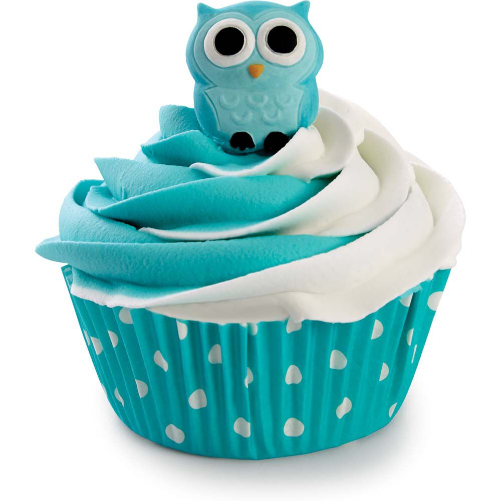 Owl Edible Icing Decorations Wilton