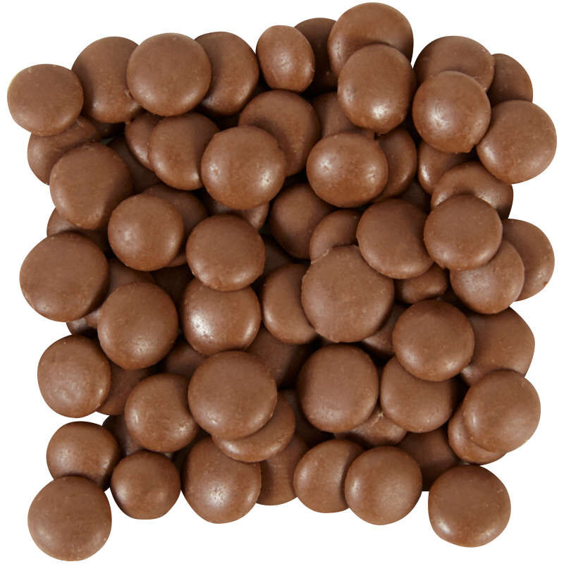 Light Cocoa Candy Melts Drizzle Pouch 2 oz image number 1