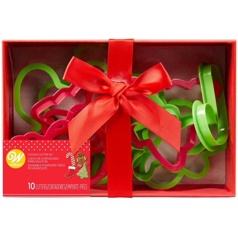 Holiday Cookie Cutter Set, 10-Piece image number 1