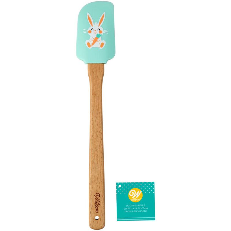 Easter Bunny With Carrot Silicone Spatula image number 1