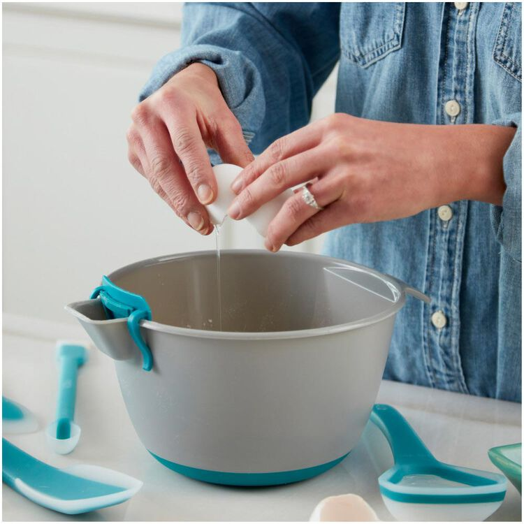 Versa-Tools Measure and Pour Mixing Bowl Set, 2-Piece