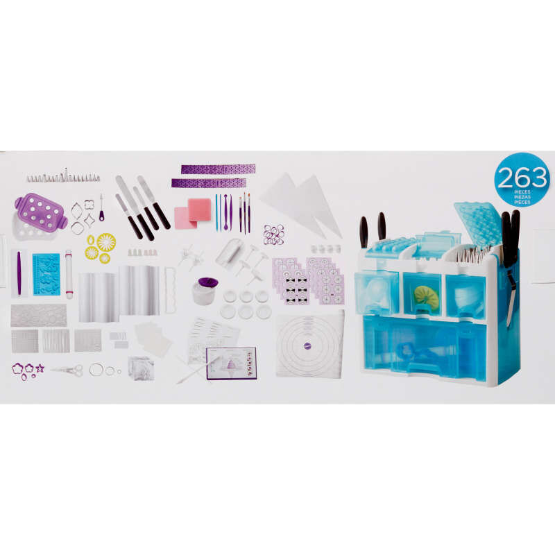 Ultimate Cake Decorating Tool Set Component Guide image number 3