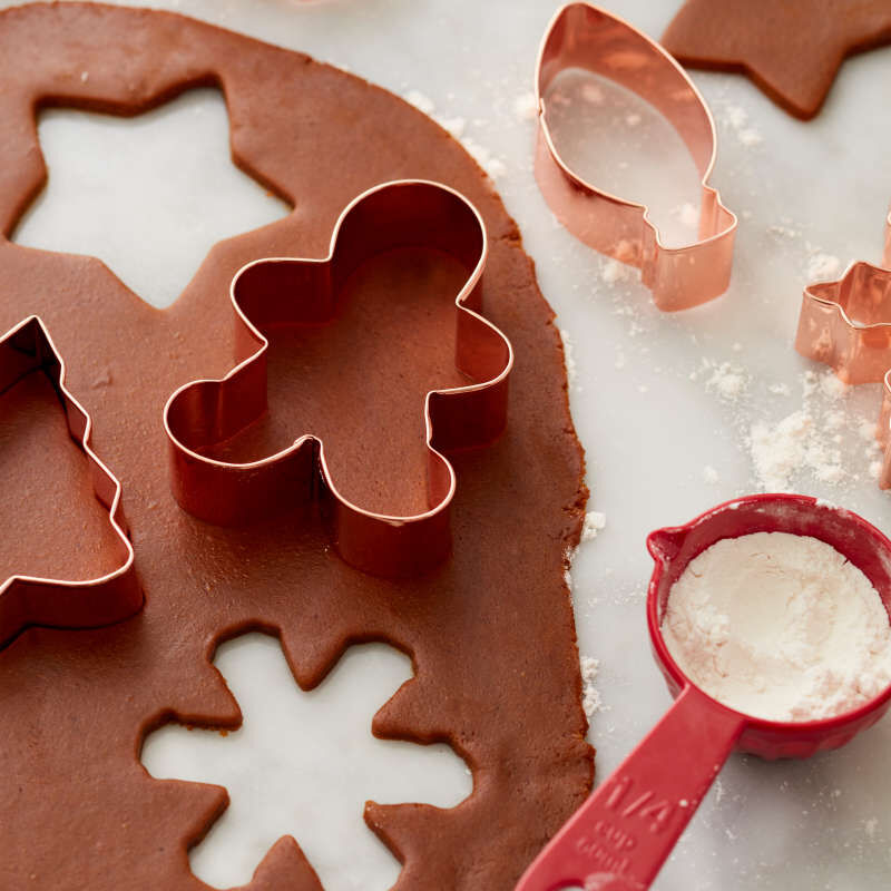 Copper Cookie Cutter Set, 16-Piece image number 3