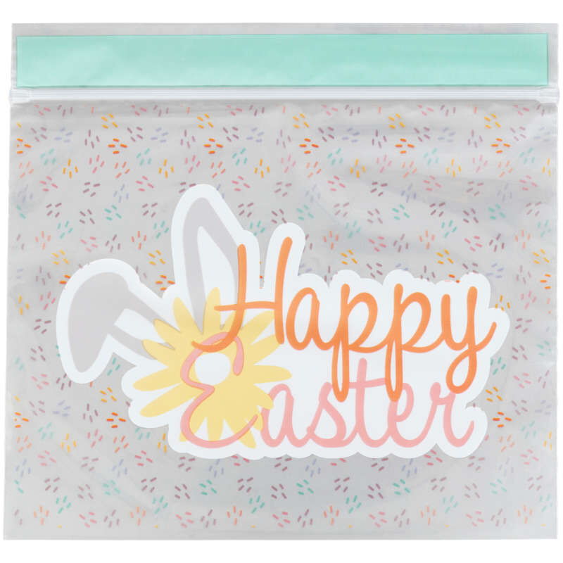 Happy Easter Resealable Treat Bags, 20-Count image number 1