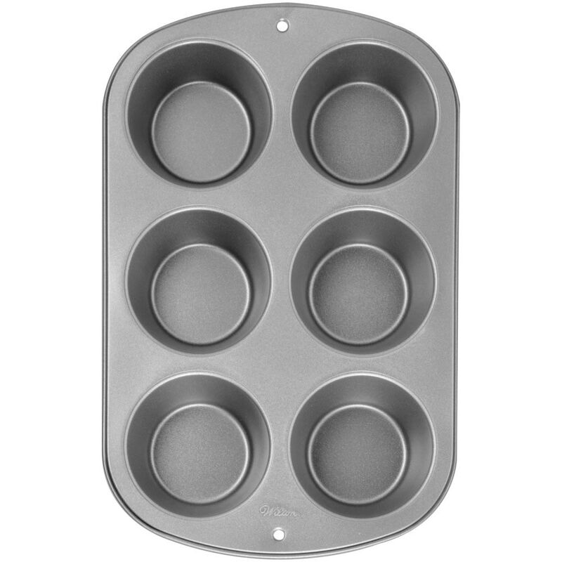 Recipe Right Non-Stick Jumbo Muffin Pan, 6-Cup image number 0
