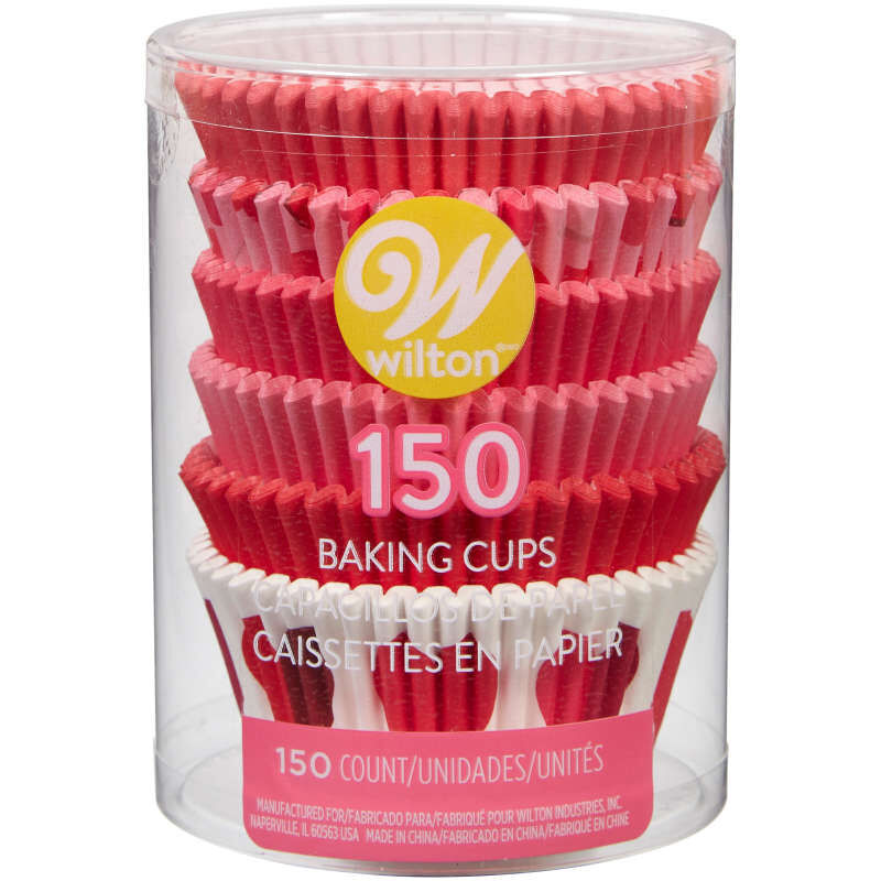 Valentine's Day Assorted Standard Cupcake Liners, 150-Count image number 3