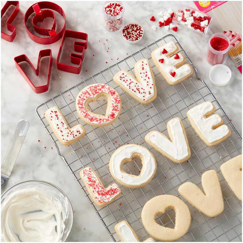 Love Cookie Cutter Set, 4-Piece image number 2