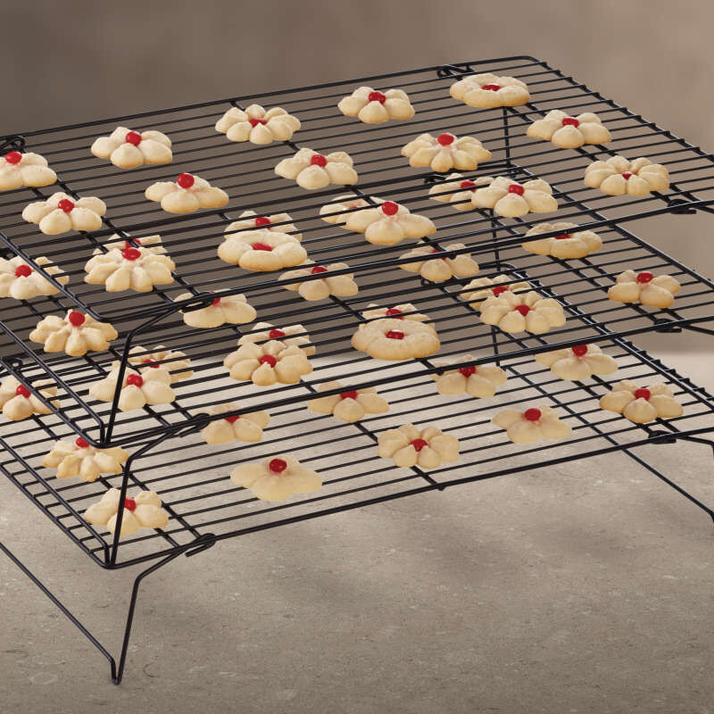 Excelle Elite 3-Tier Cooling Rack for Cookies, Cakes and More image number 3