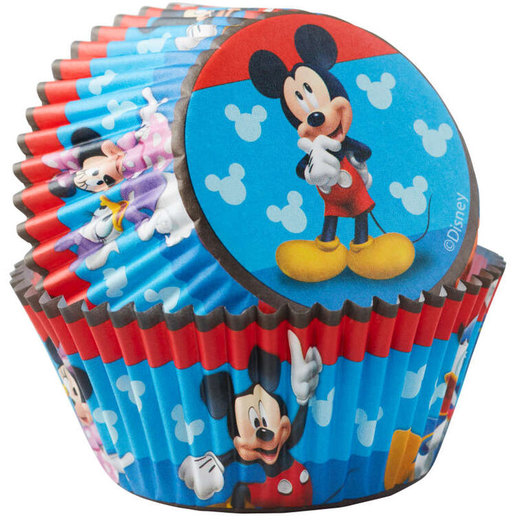 Mickey and the Roadster Racers Birthday Cupcake Liners