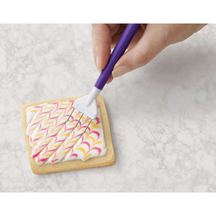 Cookie Decorating Tool Set, 3-Piece Cookie Decorating Supplies
