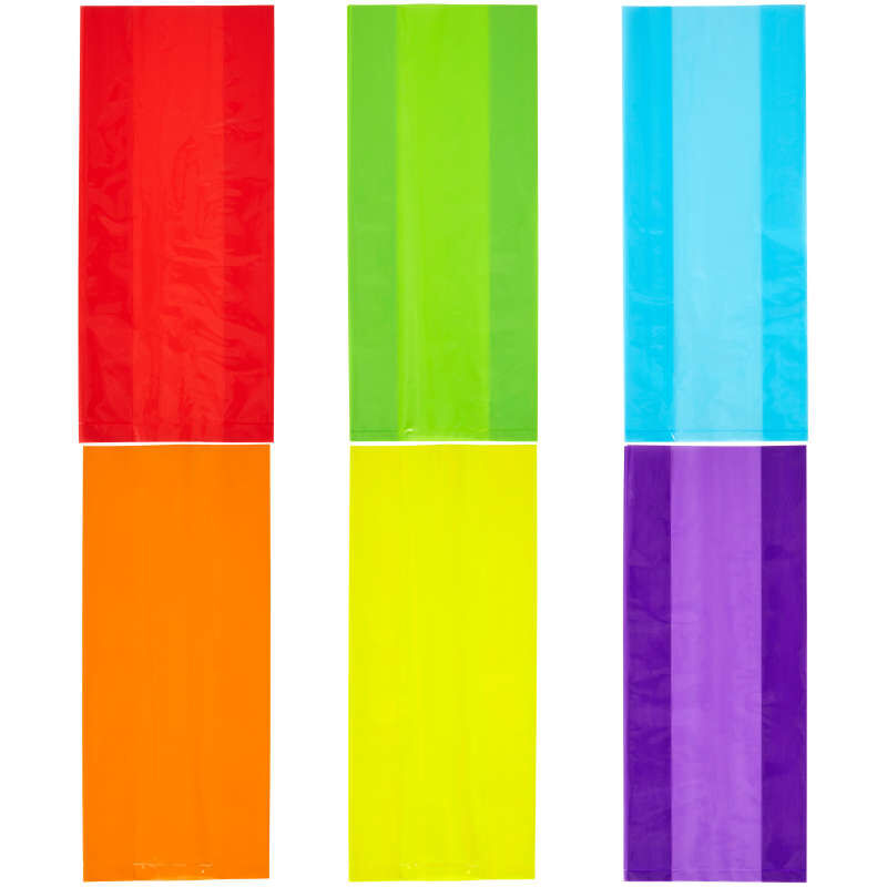 Colored Treat Bags, 30-Count image number 2