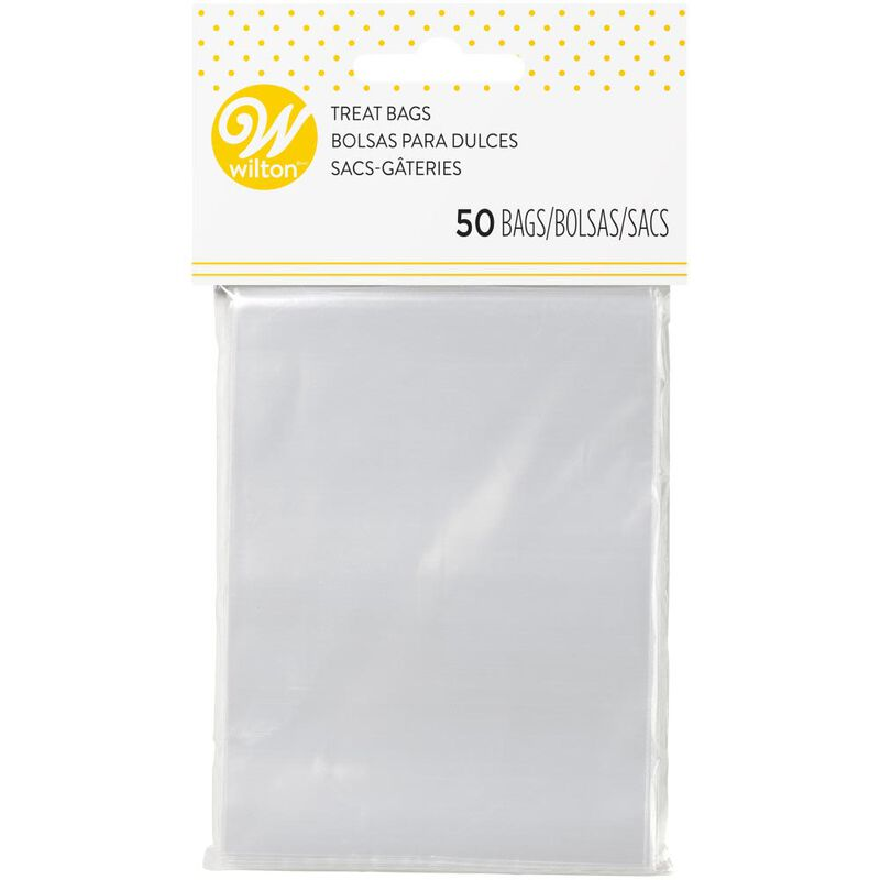 Clear Treat Bag, 50-Count image number 0