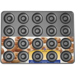 Perfect Results Non-Stick Mega Donut Pan, 20-Cavity