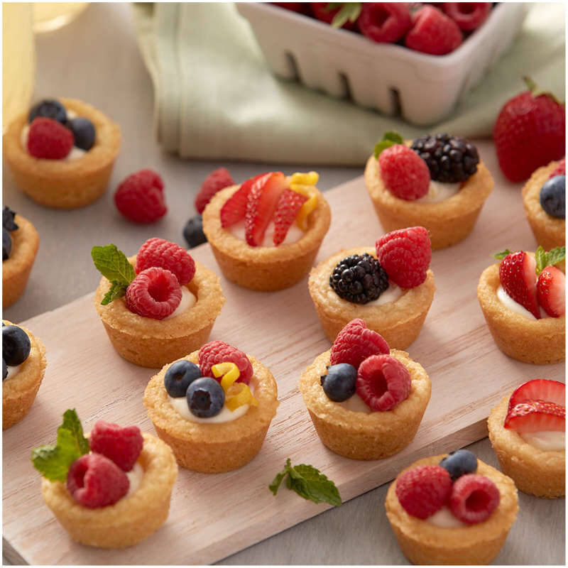 Perfect Results Non-Stick Mega Mini Muffin and Cupcake Pan, 48-Cup Pan image number 4