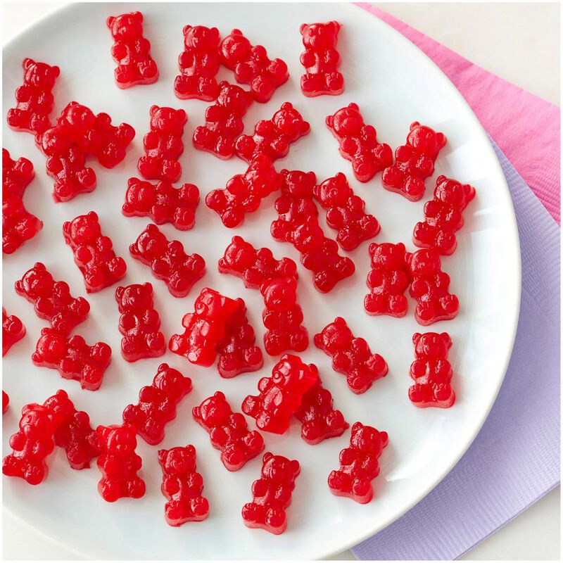 Rosanna Pansino by Silicone Gummy Bear Candy Mold, 2-Piece image number 5