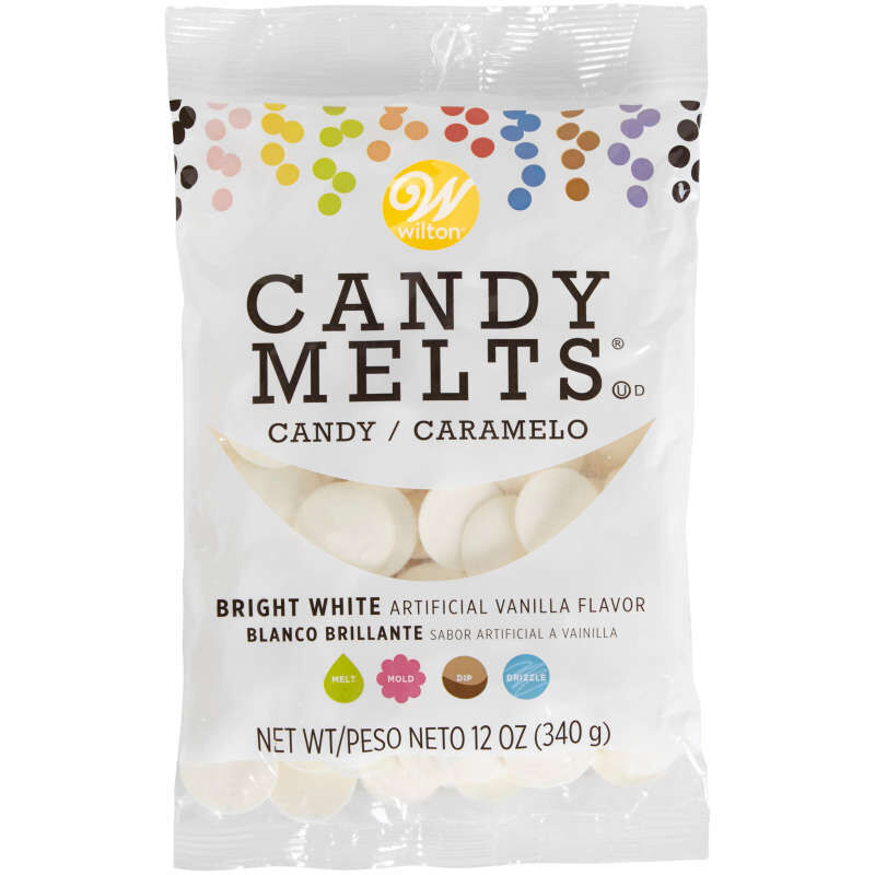 Bright White Candy Melts  image number 0