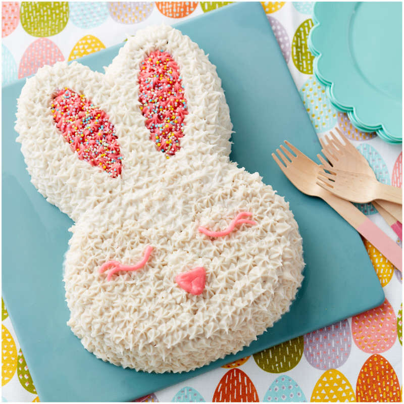 Easter Bunny Cake Baking and Decorating Set, 5-Piece image number 5