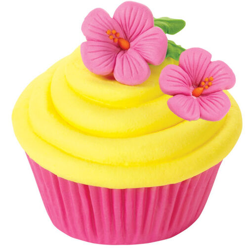 Hibiscus Royal Icing Flower Icing Decorations Wilton