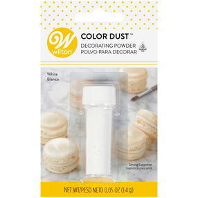 White Color Dust, 0.05 oz.