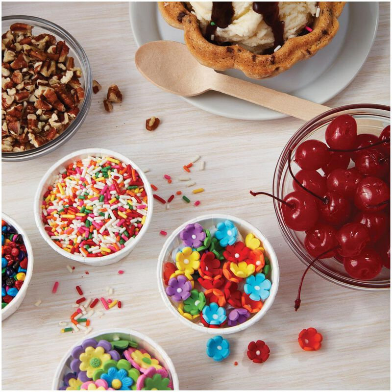 Mini Daisy Multi-Color Icing Decorations, 32-Count image number 6