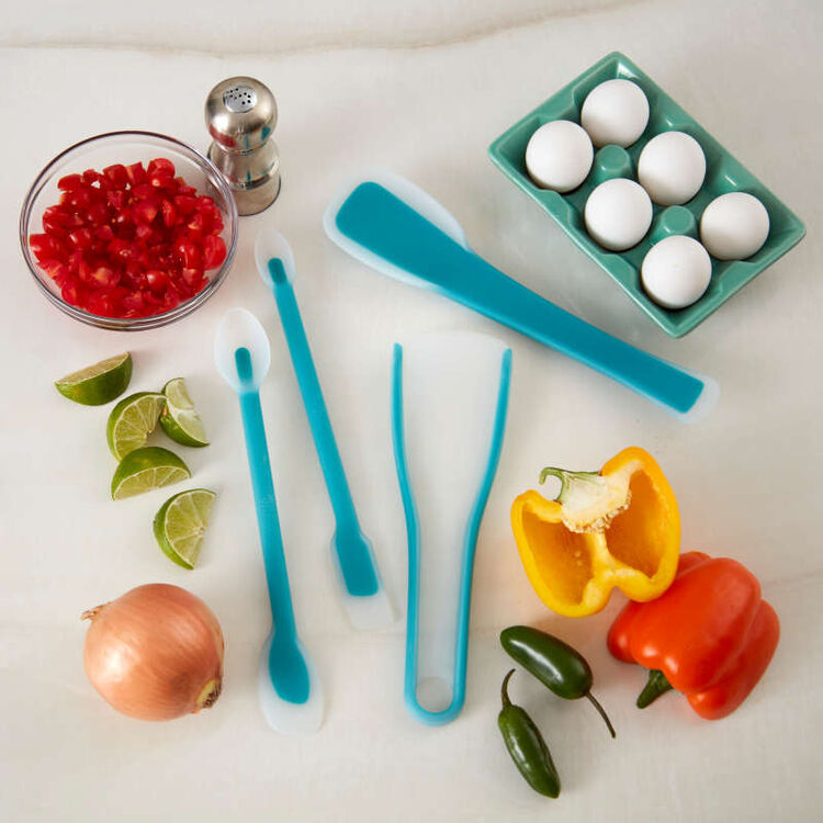 Versa-Tools Silicone Spread and Scoop Spoonula for Cooking and Baking