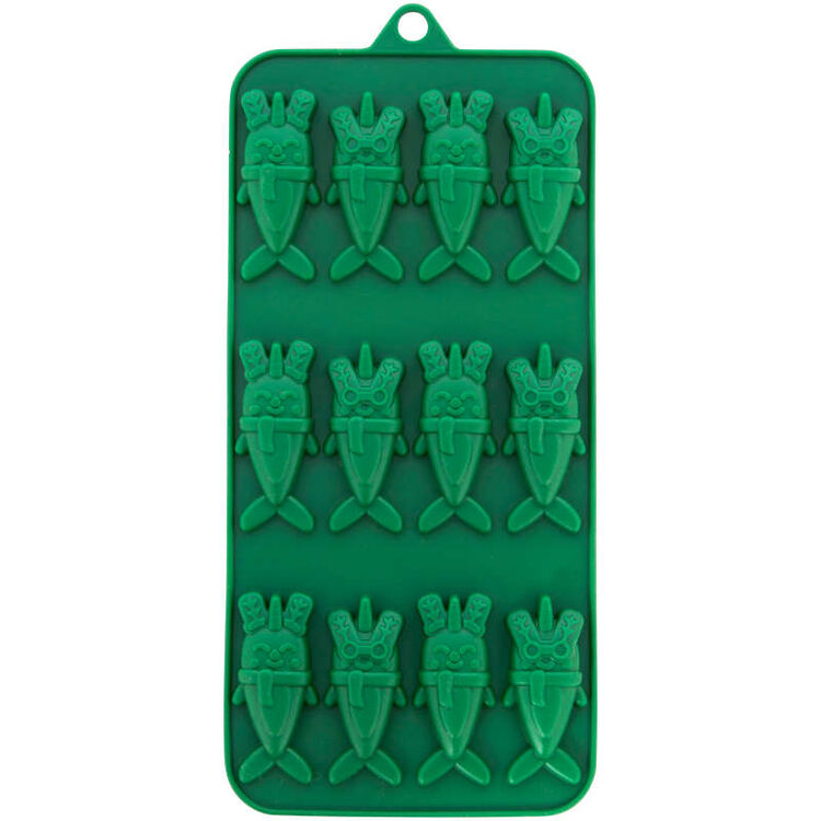 Christmas Narwhals Silicone Candy Mold, 12-Cavity