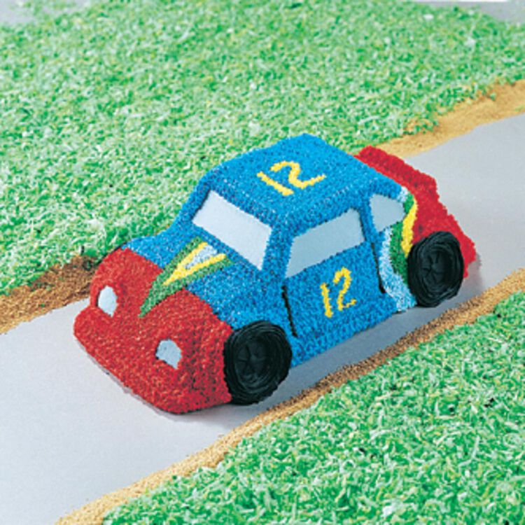 Car Cake Pan, Kids 3D Birthday Cake Pan