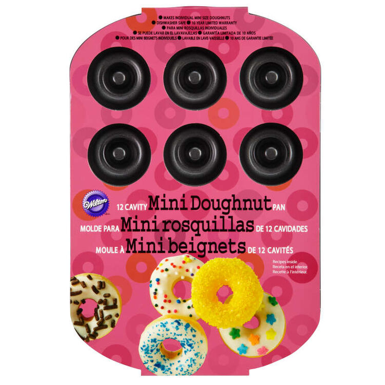 Mini Cake Donut Pan in Packaging