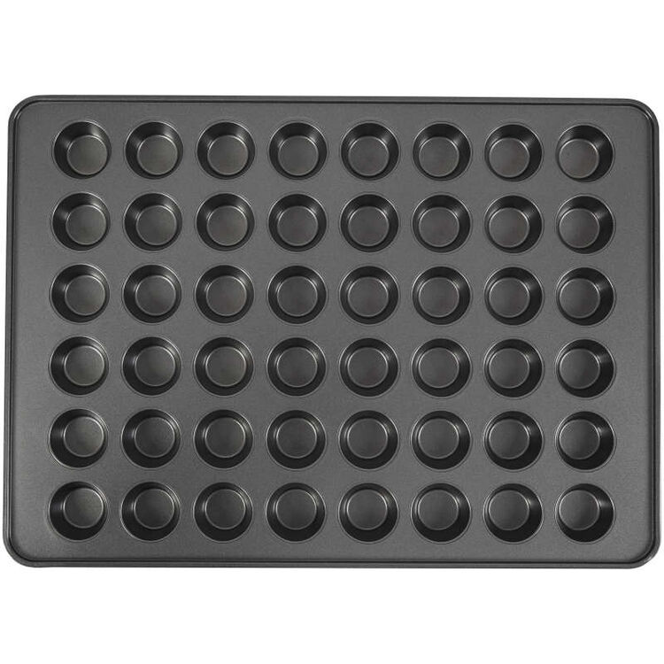 Perfect Results Non-Stick Mega Mini Muffin and Cupcake Pan, 48-Cup Pan