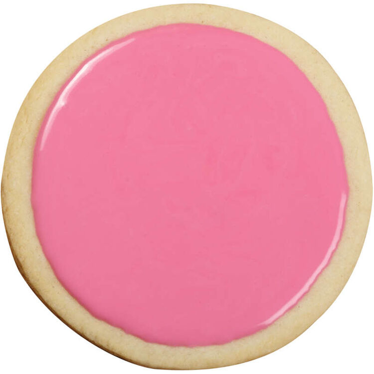 Pink Cookie Icing