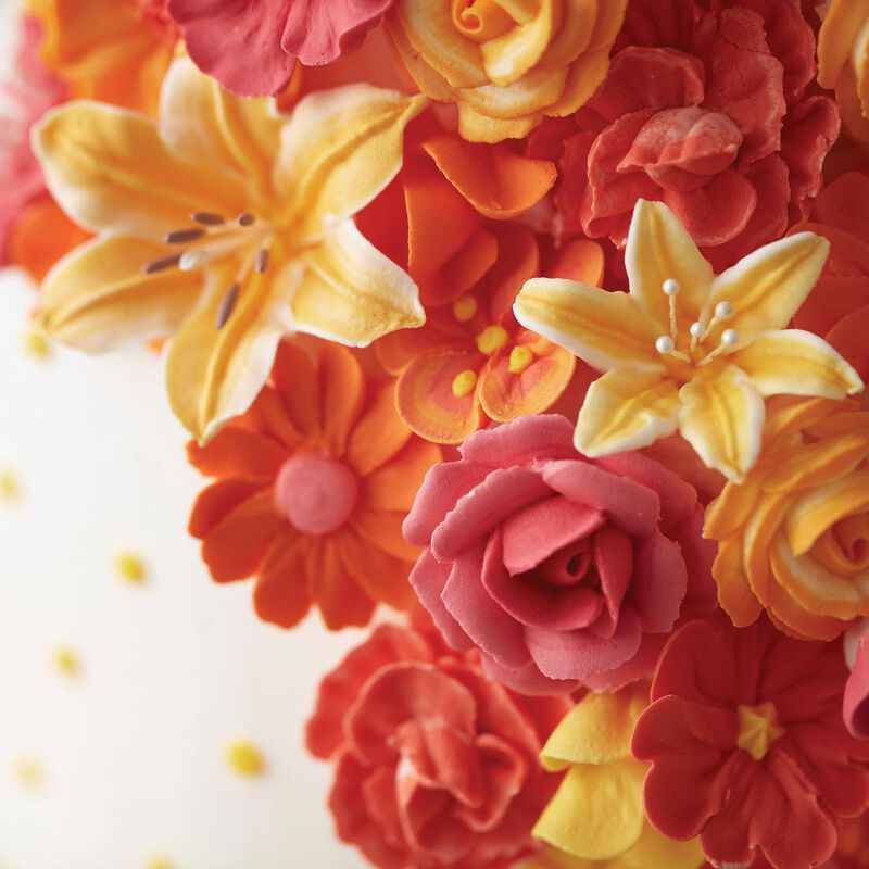 Flower Wave Fondant and Gum Paste Drying Rack - Cake Decorating Supplies image number 3