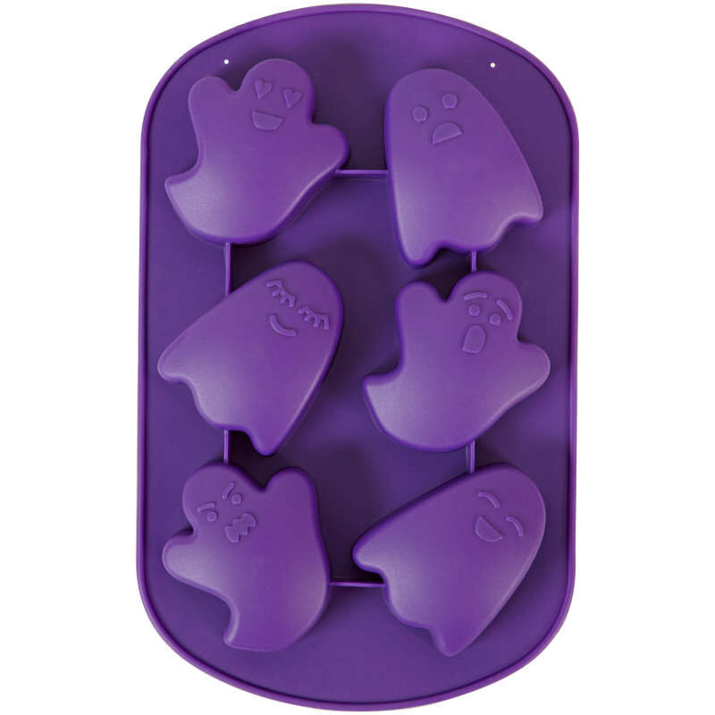 Ghost Silicone Mold, 6-Cavity image number 1