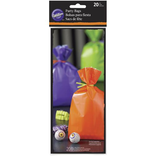 Halloween Solid Colored Treat Bags