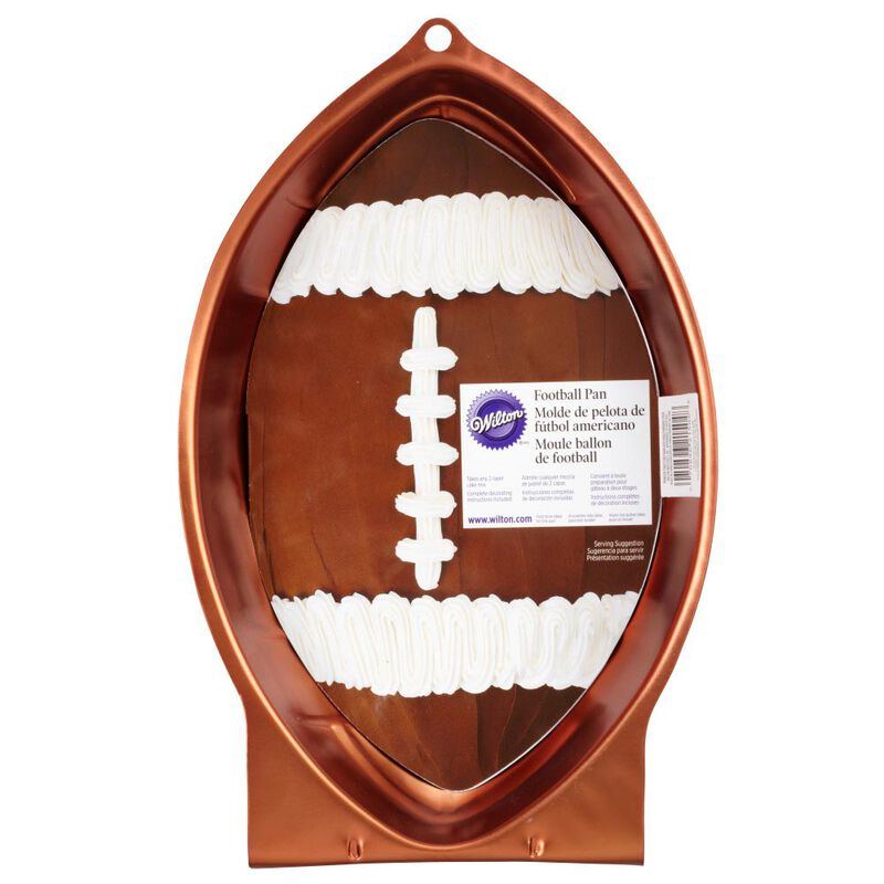 Football Novelty Cake Pan image number 1