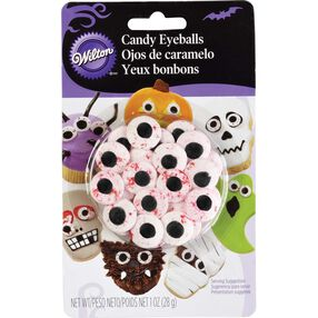 Wilton Red Vein Candy Eyeballs